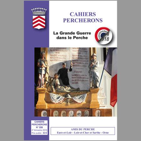 Cahiers Percherons, n°208, la Grande Guerre dans le Perche
