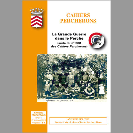 Cahiers Percherons, n°214, 2e trim 2018