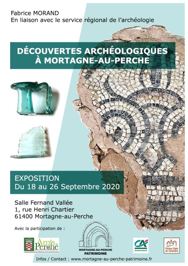 Affiche-découvertes-archéologiques-mortagne-au-perche