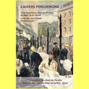Cahier Percheron, n°224, couverture