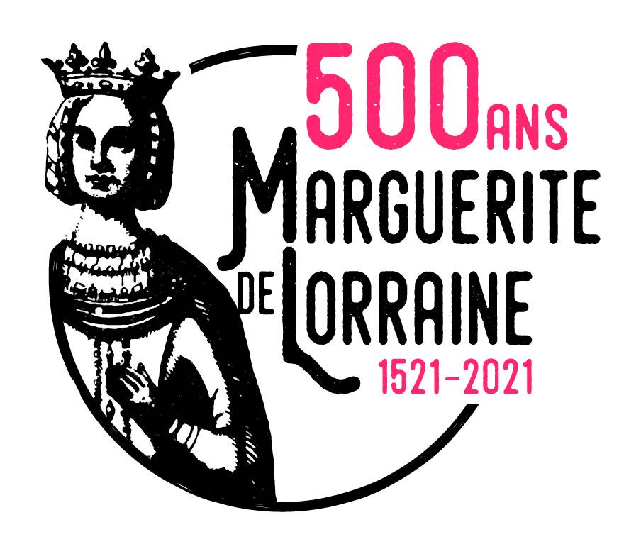 Logo 500 ans de la mort de Marguerite de Lorraine
