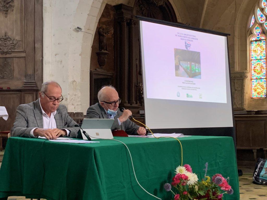 Vincent Lebel et Claude Boitard, des conférenciers passionnants et passionnés