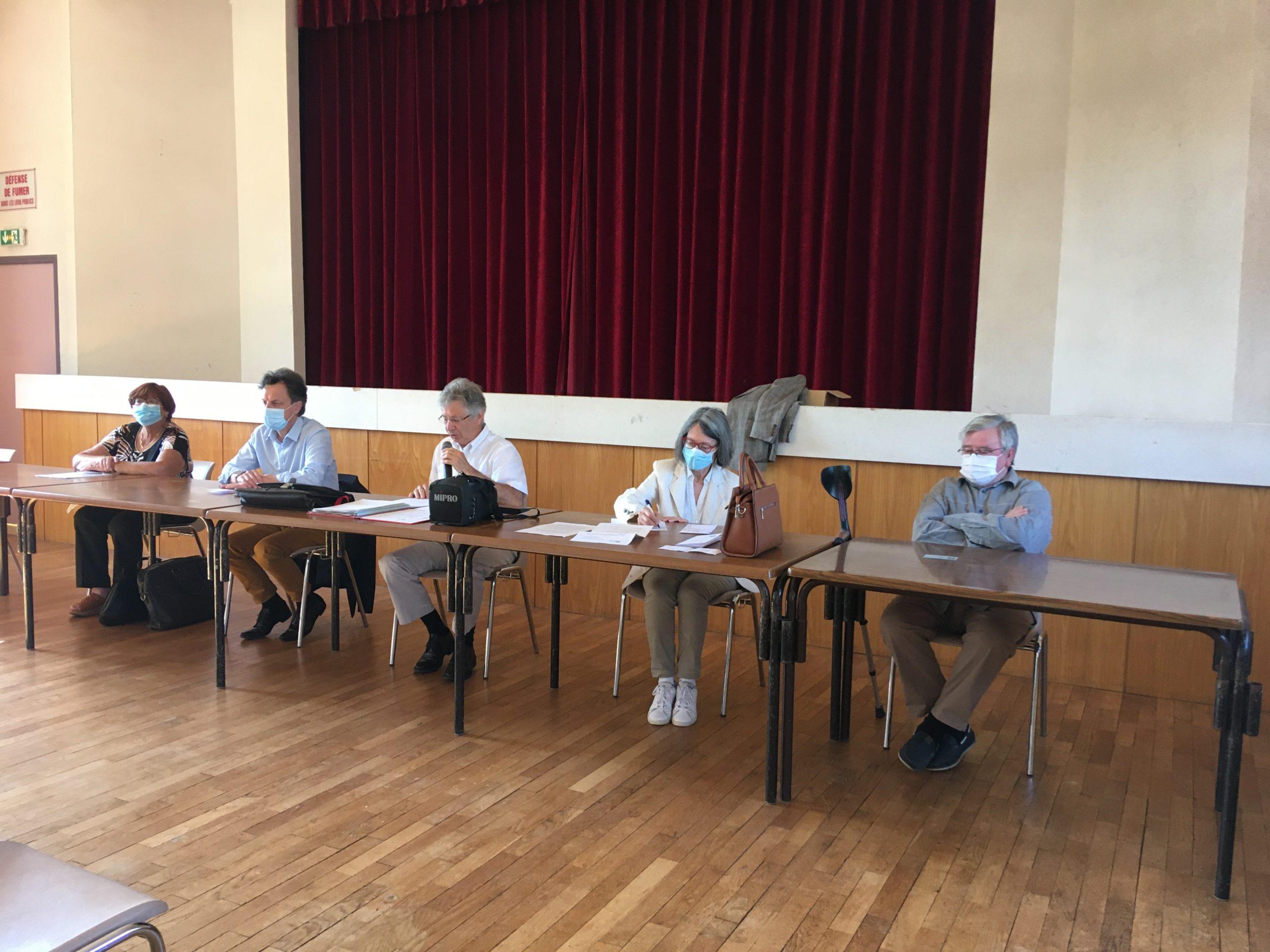 Le bureau des Amis du Perche d'Eure-et-Loir, Luigny, 13 juin 2021