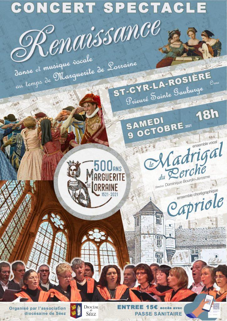 2021-10-09, spectacle du Magridal au prieuré de Ste Gauburge