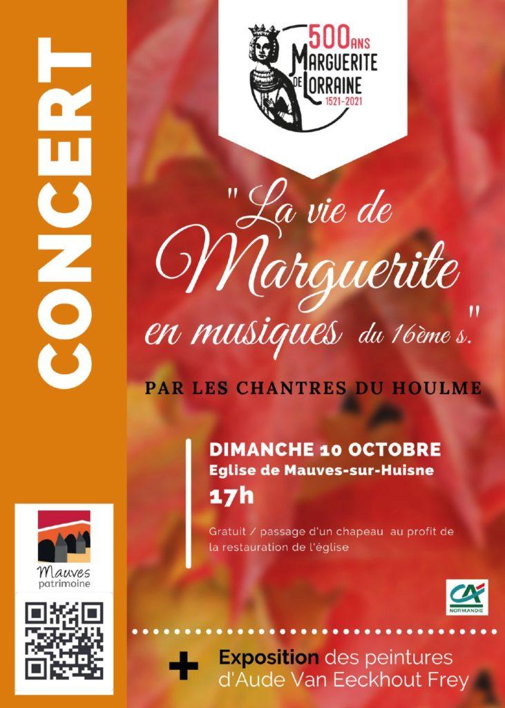 2021-10-10, Concert des Chantres du Houlme, Mauves-sur-Huisne